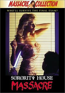 Sorority House Massacre DVD cover